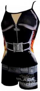 Marvel Comics Avengers Black Widow Cami & Panty Set for women