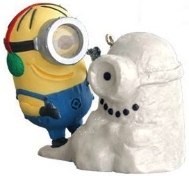 Despicable Me Minion Christmas Ornament 