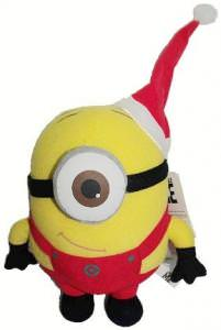Despicable Me Santa Stewart Plush