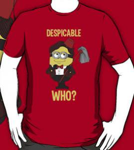 Despicable Who T-Shirt