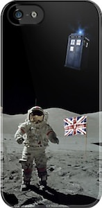 Doctor Who Moon Landing iPhone And iPod Touch Case