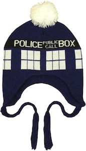 Doctor Who Tardis Lapland Beanie Hat