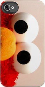 Sesame Street Elmo Eyes iPhone iPod Case