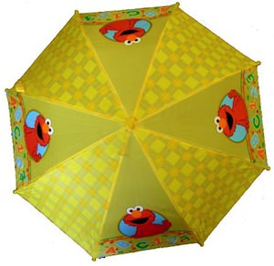 Sesame Street Yellow  Elmo Umbrella