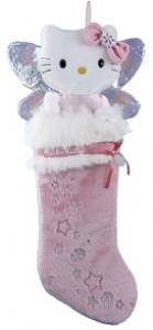 Hello Kitty Plush Head Stocking