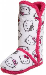 Hello Kitty Plush Tall Boots