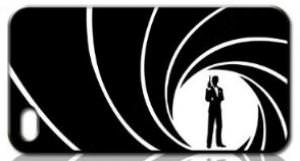 James Bond 007 iPhone 5 Case