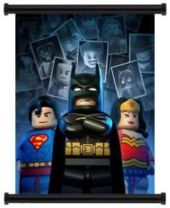 LEGO Batman DC Super Heroes Game Wall Scroll