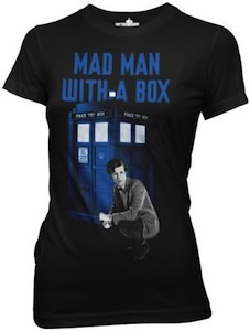 Mad Man With A Box Doctor Who T-Shirt