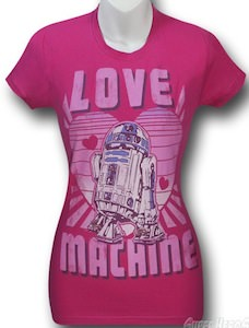 Star Wars R2-D2 Love Machine T-Shirt
