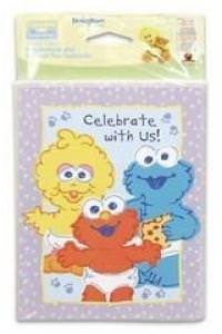 Sesame Street Invitations And Thankyou Notes