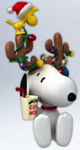 Peanuts Snoopy And Woodstock Christmas Ornament