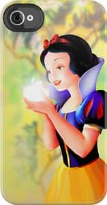 Snow White Apple Logo iPhone iPod Case