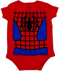 Spider-Man Baby Bodysuit