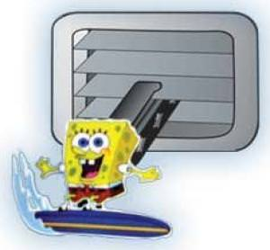 SpongeBob Squarepants Vent Air Freshener.