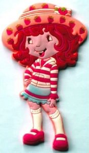 Strawberry Shortcake Fridge Magnet