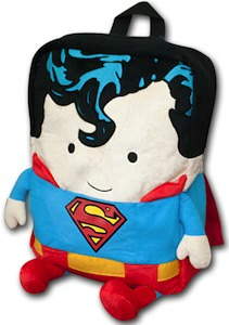 Superman Character Backpack