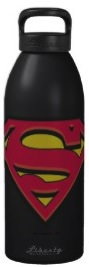 Superman Logo Water Bottle