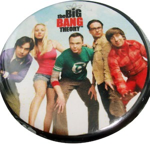The Big Bang Theory Group Button