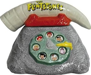 The Flintstones Telephone Cookie Jar