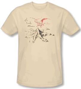 The Hobbit The Lonely Mountain T-Shirt