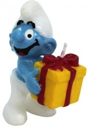The Smurfs Birthday Candle