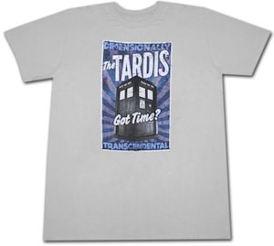 Doctor Who Tardis  Dimensionally Transcendental T-Shirt