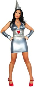 The Wizard of Oz Tin Man Womens Costume