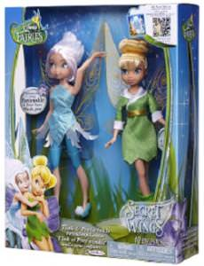 Disney Fairies Tinker Bell And Periwinkle Dolls