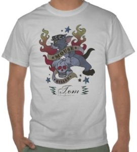 Mouse Killer Tom T-Shirt