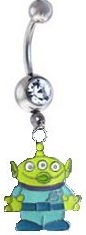 Toy Story Aliens Belly Ring