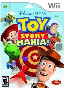 Toy Story Mania Nintendo Wii Video Game