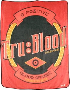 True Blood Label Blanket