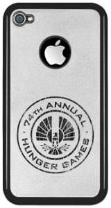 Vintage 74th Hunger Games iPhone Case