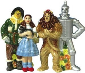 Wizard Of Oz Salt And Pepper Shaker Set