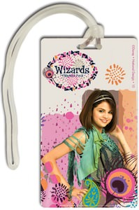Selena Gomez Wizards Of Waverly Place Luggage Tag