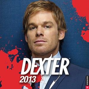 Dexter wall calendar 2013