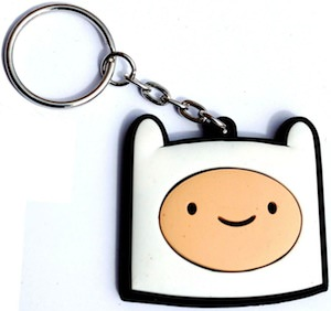 Adventure Time Finn Key Chain
