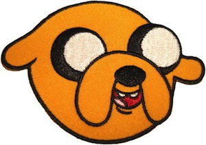 Adventure Time Jake Clothing Patch
