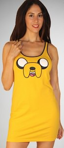Adventure Time Jake Tank Dress