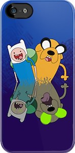 Adventure Time Zombie iPhone And iPod Touch Case