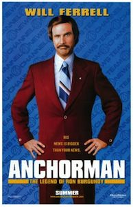 Anchorman Rob Burgundy Poster