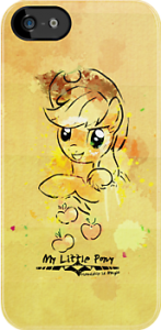 My Little Pony Applejack iPhone And iPod Touch Case