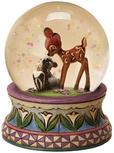 Bambi Friendship Snow Globe