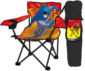 Enjoyable Batman Kids Folding Camping Chair Machost Co Dining Chair Design Ideas Machostcouk