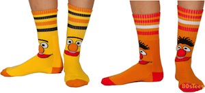 Sesame Street Bert And Ernie Socks