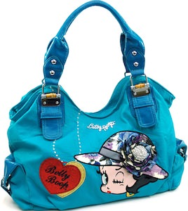 Betty Boop Large Shoulder Bag