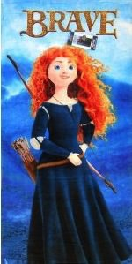 Brave Merida Beach Towel