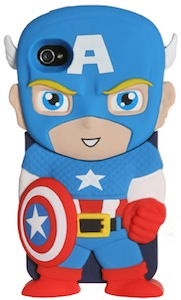 Captain America Character iPhone 4S Case