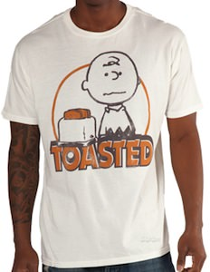 Peanuts Charlie Brown Toasted T-Shirt